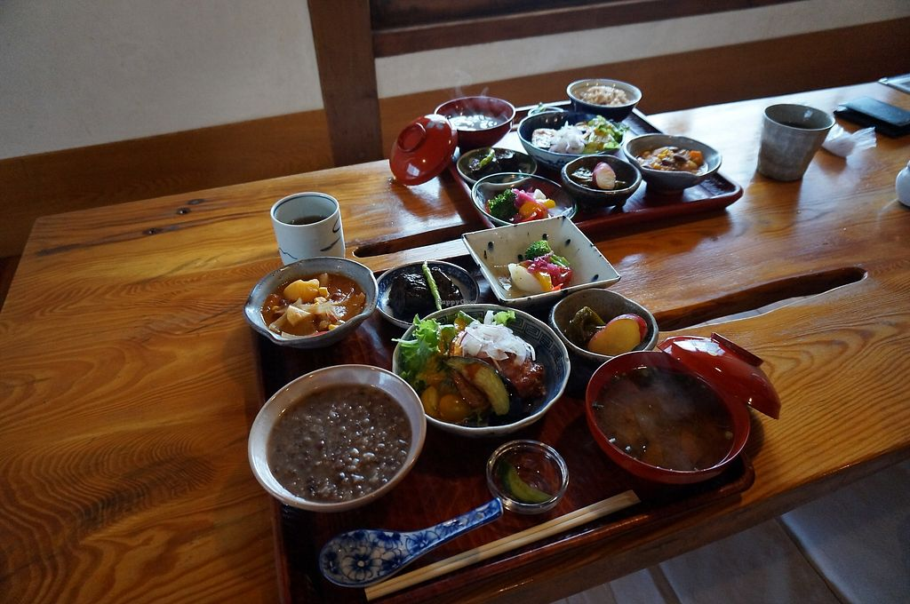 """Photo of Yasai-Shokudo Koyama  by <a href=""""/members/profile/Tomomi13"""">Tomomi13</a> <br/>Lunch set 1,500yen <br/> March 5, 2018  - <a href='/contact/abuse/image/107757/366946'>Report</a>"""