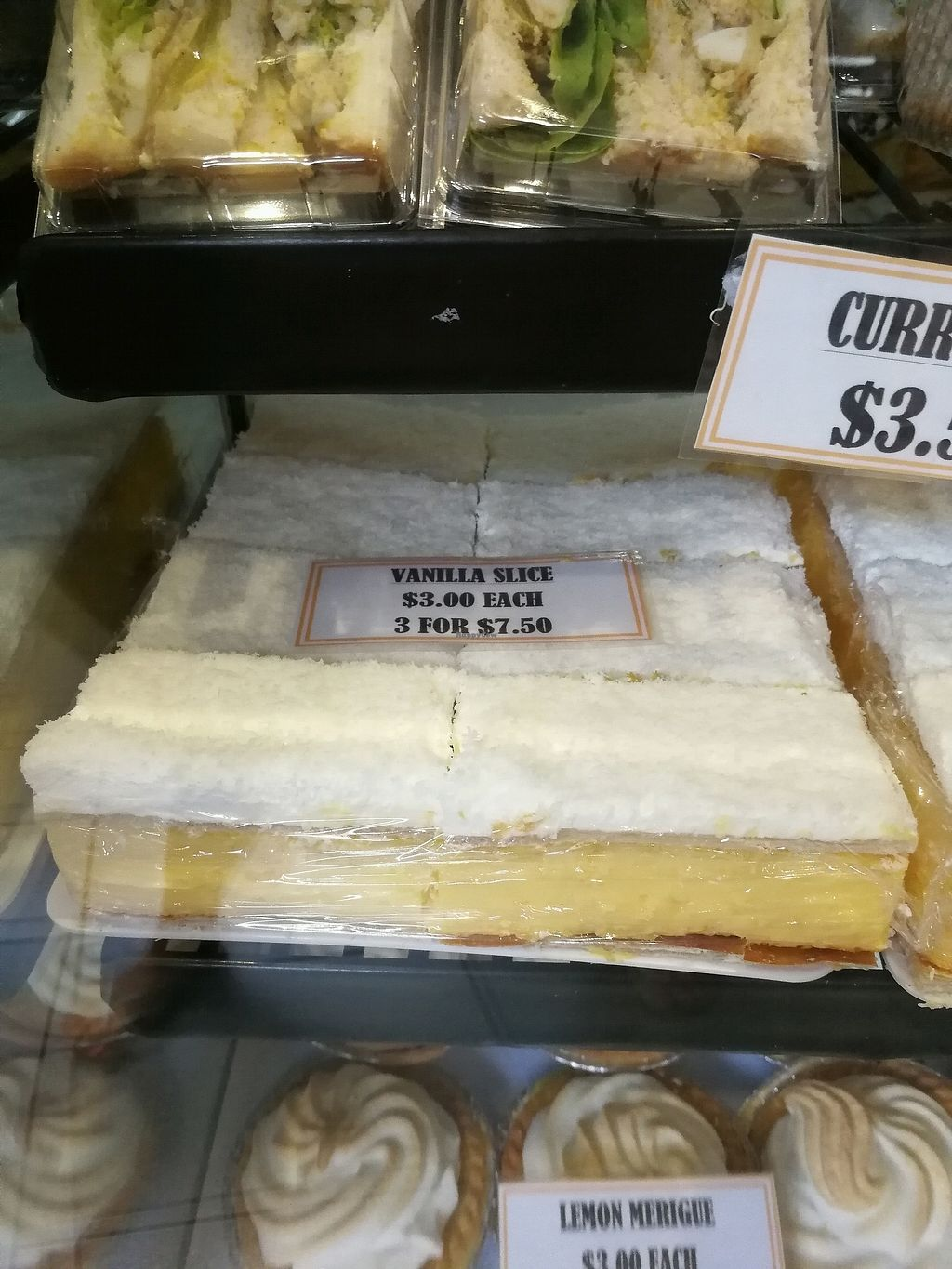 """Photo of Findon Bakehouse  by <a href=""""/members/profile/JanineBarthel"""">JanineBarthel</a> <br/>vegan vanilla slices <br/> December 24, 2017  - <a href='/contact/abuse/image/107800/338651'>Report</a>"""