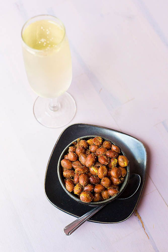 "Photo of Indian Paradox  by <a href=""/members/profile/indianparadox"">indianparadox</a> <br/>Masala Peanuts + Bubbly <br/> January 8, 2018  - <a href='/contact/abuse/image/107855/344161'>Report</a>"