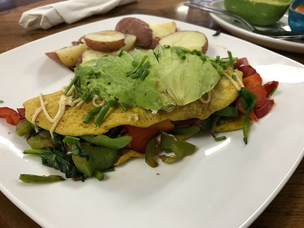 """Photo of Marla Restaurant  by <a href=""""/members/profile/Khrome83"""">Khrome83</a> <br/>Vegan Veggie Omelet <br/> April 1, 2018  - <a href='/contact/abuse/image/107878/379381'>Report</a>"""