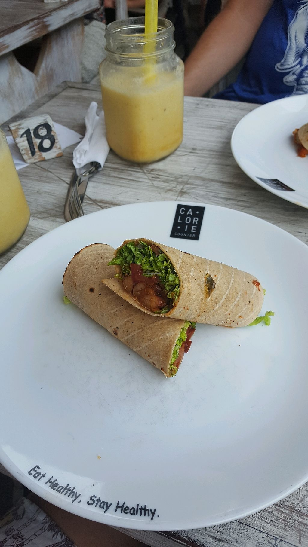 """Photo of Calorie Counter  by <a href=""""/members/profile/Taowaki"""">Taowaki</a> <br/>vegetable atta wrap <br/> January 17, 2018  - <a href='/contact/abuse/image/107880/347475'>Report</a>"""