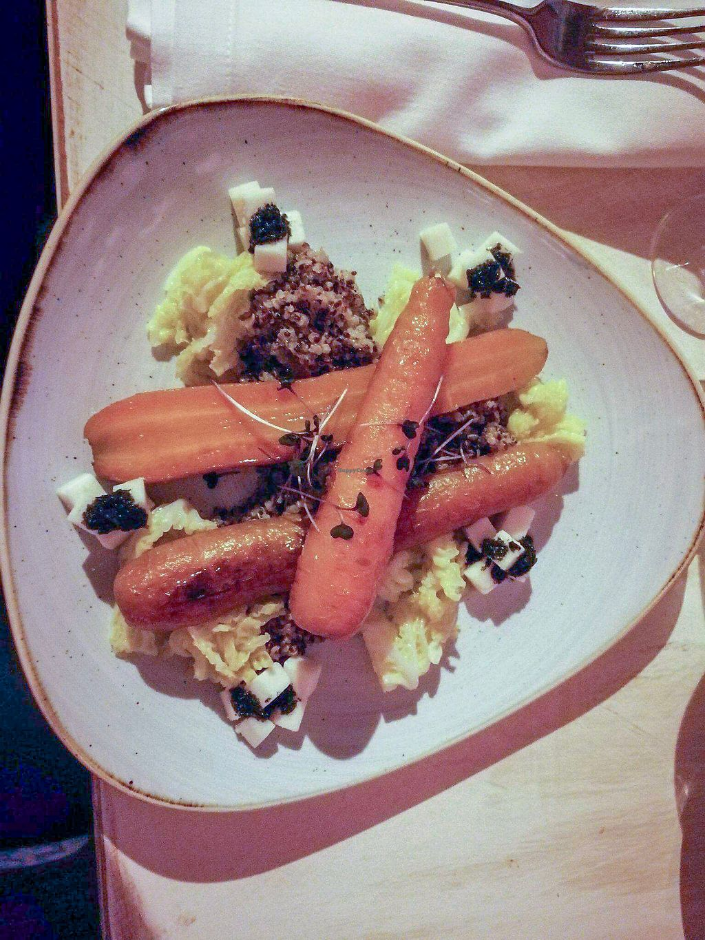 """Photo of Glow  by <a href=""""/members/profile/TatyanaMatveyeva"""">TatyanaMatveyeva</a> <br/>Caramelized carrots with quinoa and goat cheese   <br/> December 31, 2017  - <a href='/contact/abuse/image/107923/341446'>Report</a>"""