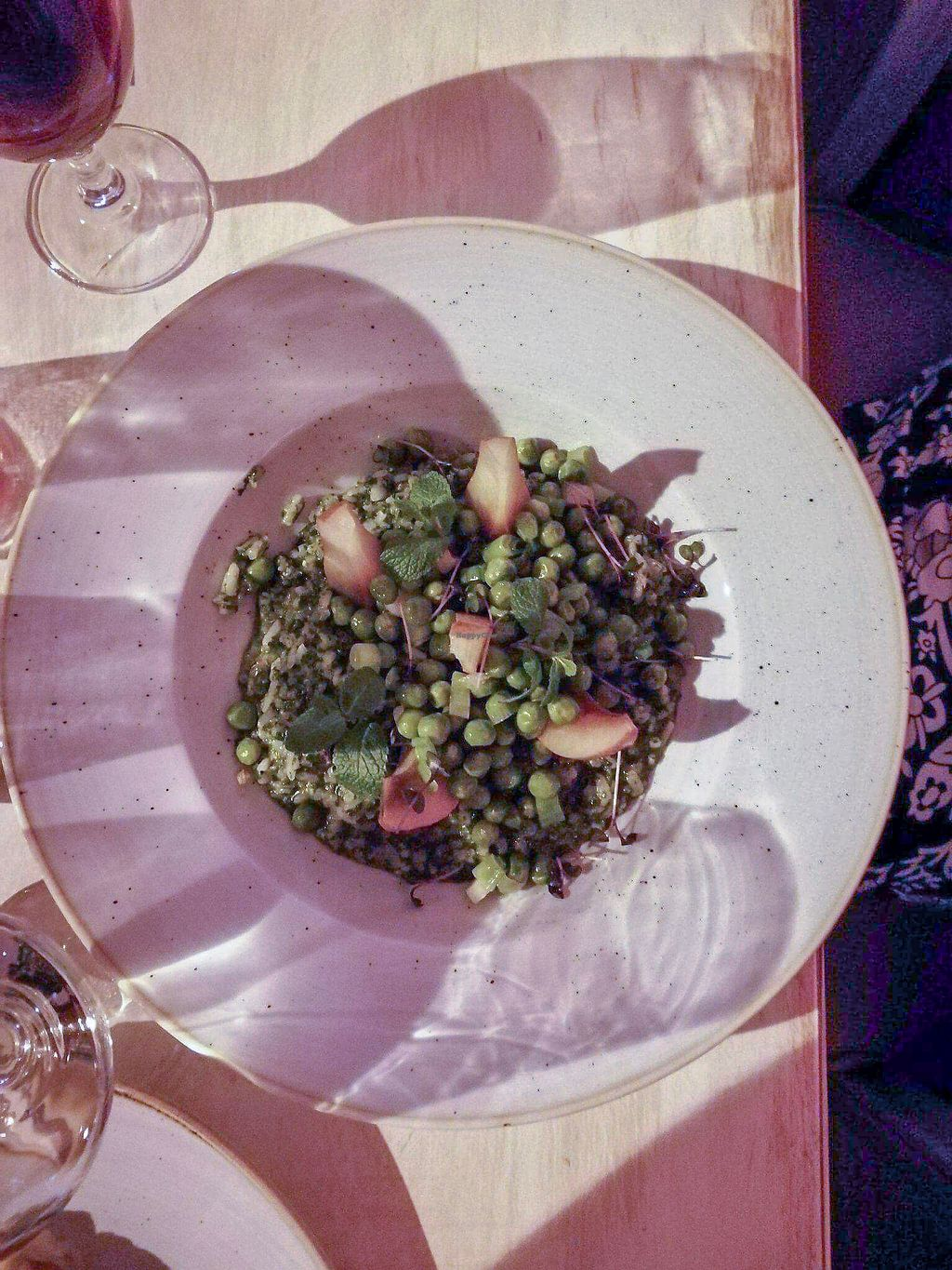 """Photo of Glow  by <a href=""""/members/profile/TatyanaMatveyeva"""">TatyanaMatveyeva</a> <br/>Risotto wit spinach and pears  <br/> December 31, 2017  - <a href='/contact/abuse/image/107923/341448'>Report</a>"""