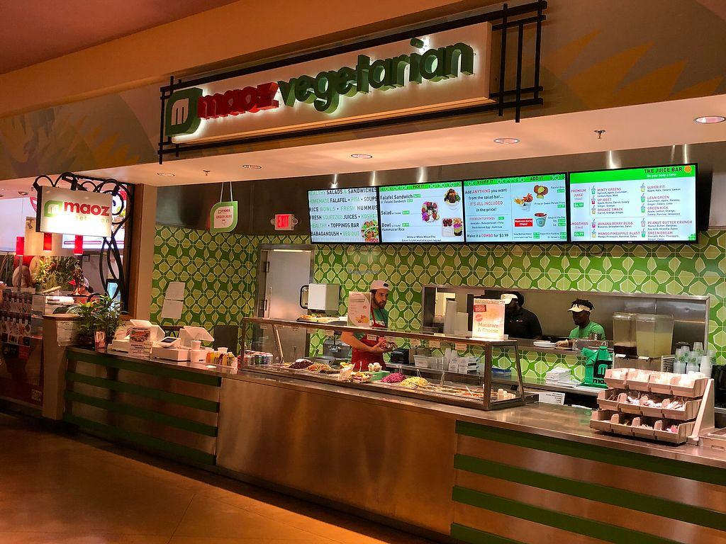 """Photo of Maoz Vegetarian  by <a href=""""/members/profile/daroff"""">daroff</a> <br/>Front  <br/> May 18, 2018  - <a href='/contact/abuse/image/107927/401563'>Report</a>"""
