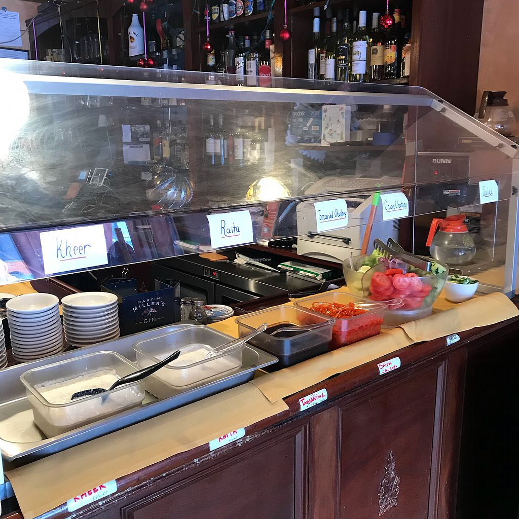 """Photo of Desi Dhaba  by <a href=""""/members/profile/Sarah%20P"""">Sarah P</a> <br/>Toppings <br/> December 25, 2017  - <a href='/contact/abuse/image/107938/339088'>Report</a>"""