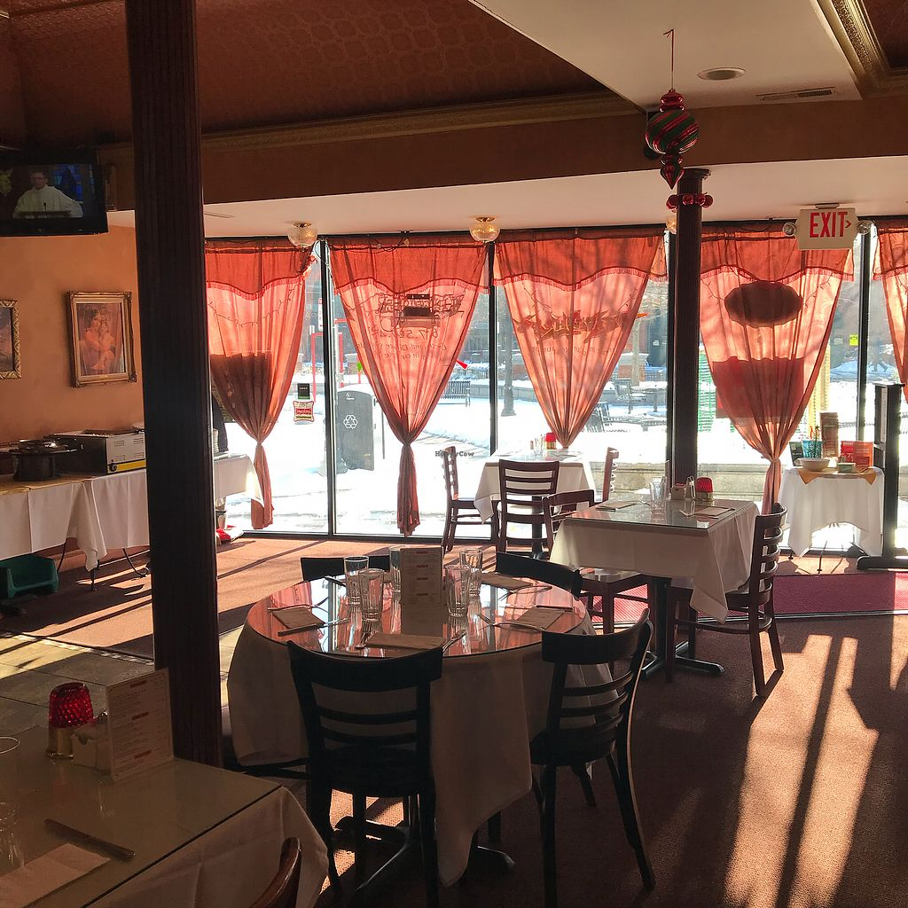 """Photo of Desi Dhaba  by <a href=""""/members/profile/Sarah%20P"""">Sarah P</a> <br/>Window seats <br/> December 26, 2017  - <a href='/contact/abuse/image/107938/339090'>Report</a>"""
