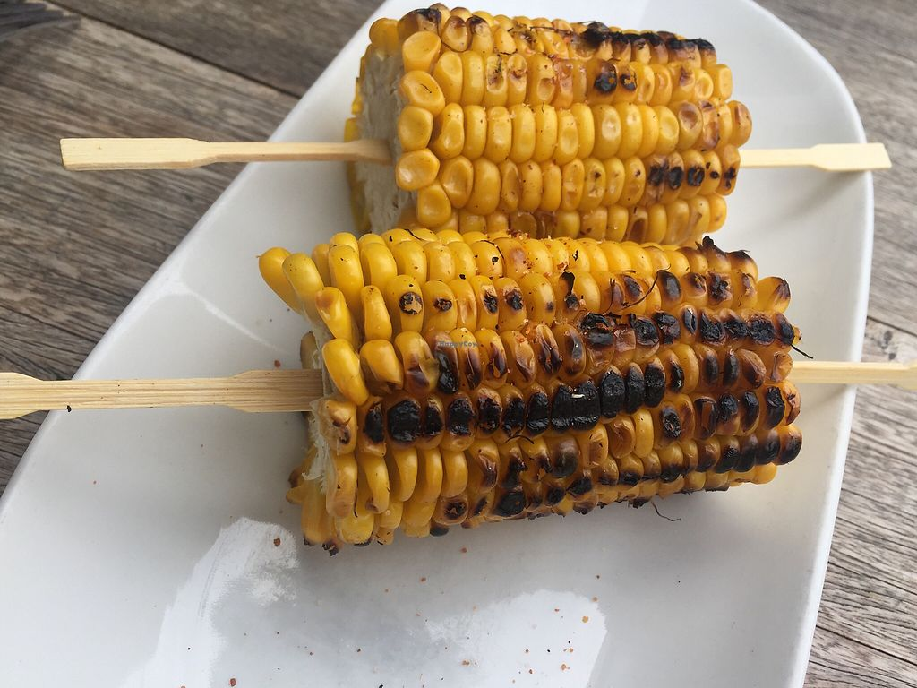 "Photo of Paco's Tacos  by <a href=""/members/profile/Tiggy"">Tiggy</a> <br/>BBQ corn $7 - Dry to the point of being almost inedible  <br/> February 17, 2018  - <a href='/contact/abuse/image/107948/360186'>Report</a>"