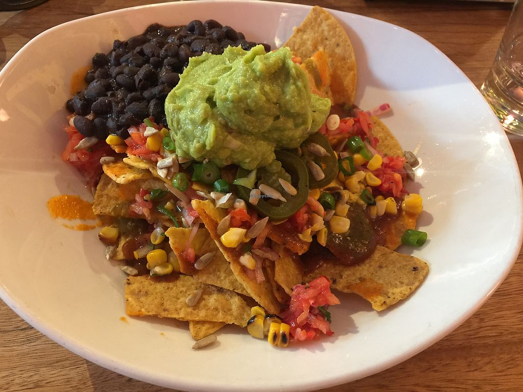"Photo of Paco's Tacos  by <a href=""/members/profile/Tiggy"">Tiggy</a> <br/>Nachos ($13.50) with added black beans ($4) <br/> March 15, 2018  - <a href='/contact/abuse/image/107948/370854'>Report</a>"