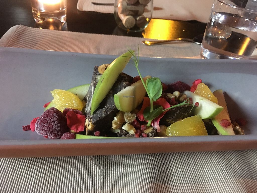 """Photo of Le Petit Bistrot  by <a href=""""/members/profile/Csctina"""">Csctina</a> <br/>Chocolate desert  <br/> December 29, 2017  - <a href='/contact/abuse/image/107952/340495'>Report</a>"""