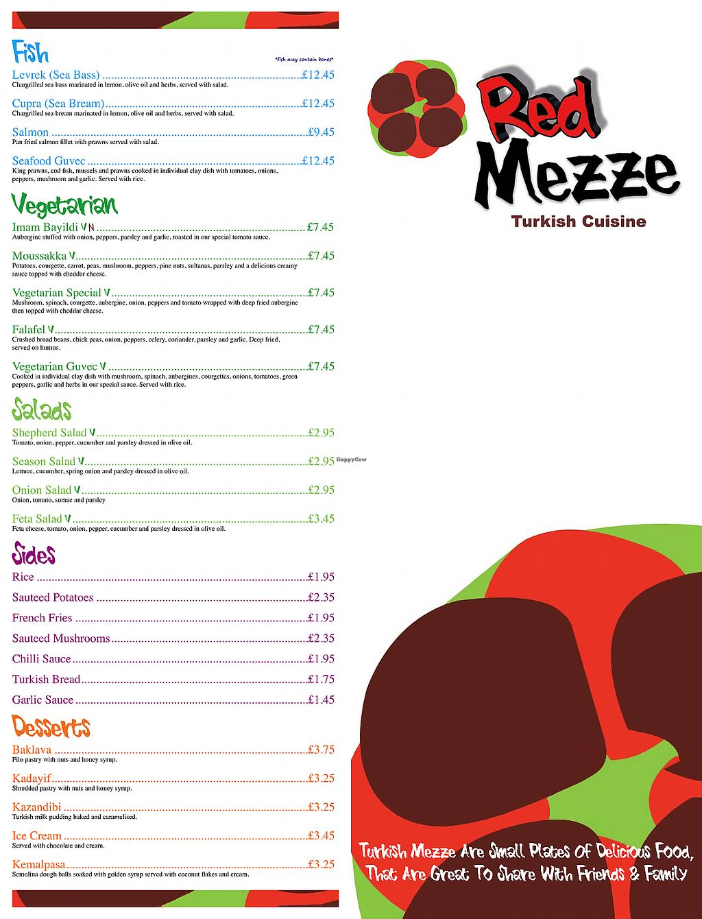 "Photo of Red Mezze  by <a href=""/members/profile/avocado_jess"">avocado_jess</a> <br/>Menu <br/> December 27, 2017  - <a href='/contact/abuse/image/107954/339477'>Report</a>"