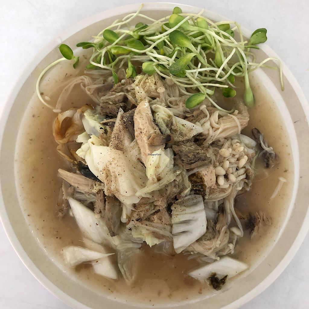 """Photo of Kingliew Vegetarian  by <a href=""""/members/profile/earthville"""">earthville</a> <br/>Special noodle dish <br/> February 18, 2018  - <a href='/contact/abuse/image/107962/360631'>Report</a>"""