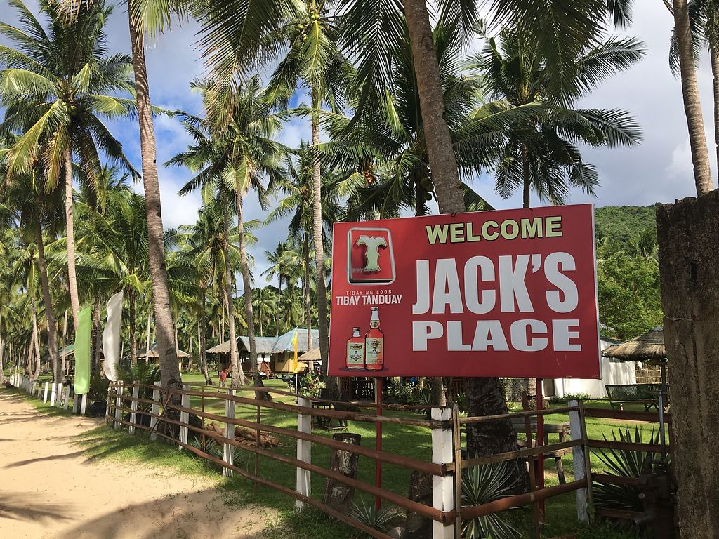 """Photo of Jack's Place   by <a href=""""/members/profile/lotustummy"""">lotustummy</a> <br/>Main entrance sign on the beach road.  <br/> December 26, 2017  - <a href='/contact/abuse/image/107963/339330'>Report</a>"""