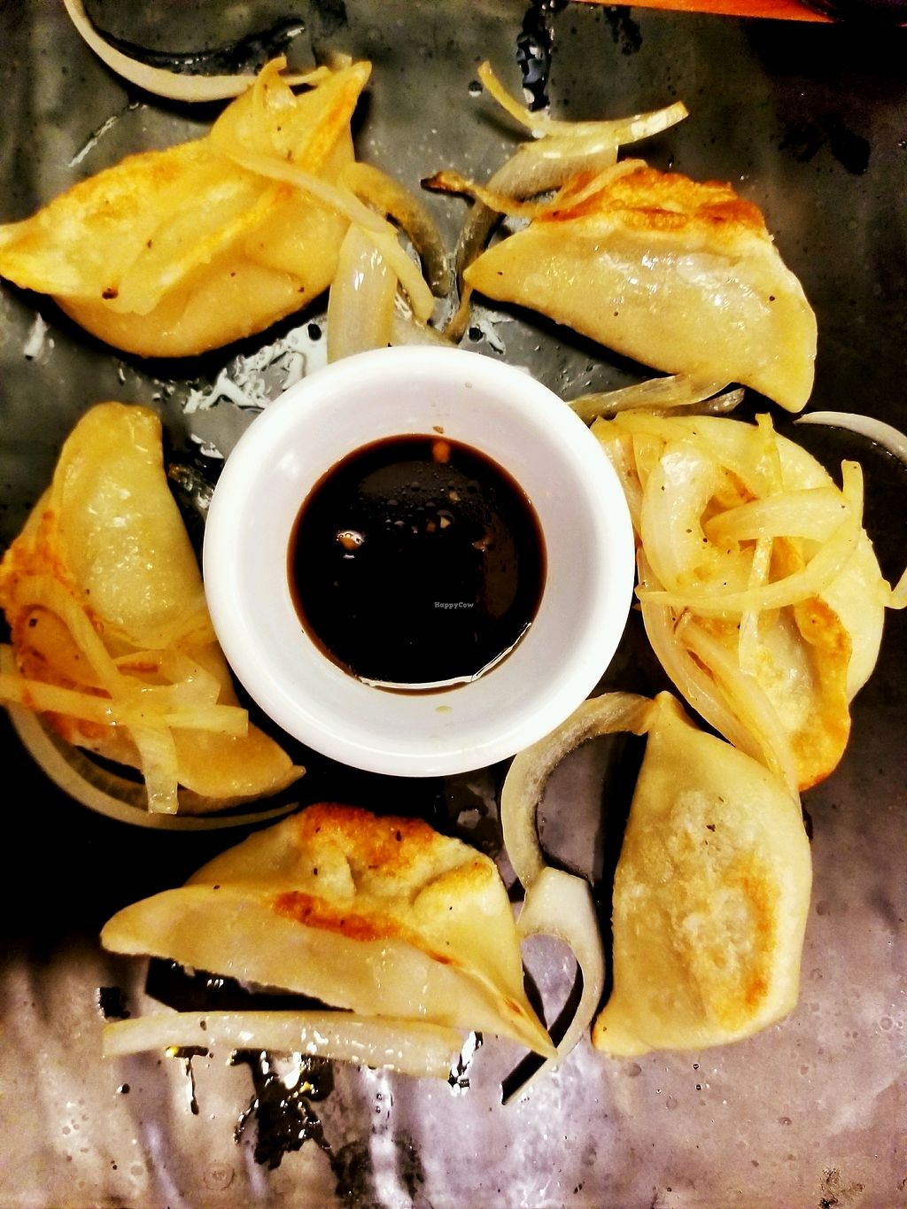 """Photo of House of Leaf & Bean  by <a href=""""/members/profile/pistol11"""">pistol11</a> <br/>Vegan Dumplings...so good <br/> January 14, 2018  - <a href='/contact/abuse/image/108032/346341'>Report</a>"""