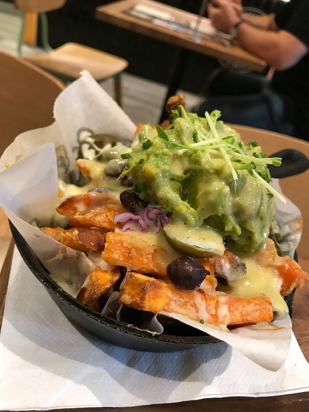 "Photo of Health Freak Cafe  by <a href=""/members/profile/Tildesam"">Tildesam</a> <br/>Loaded sweet potato fries  <br/> March 25, 2018  - <a href='/contact/abuse/image/108072/375643'>Report</a>"