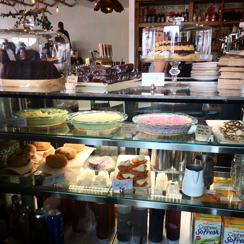 "Photo of The Moth Cafe  by <a href=""/members/profile/MarianaJE"">MarianaJE</a> <br/>Great selection of GF desserts <br/> February 19, 2018  - <a href='/contact/abuse/image/108125/361440'>Report</a>"