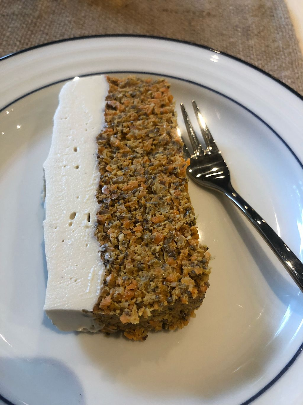 """Photo of Rawdical Vegan Kitchen  by <a href=""""/members/profile/Egil"""">Egil</a> <br/>Delicious carrot cake <br/> February 6, 2018  - <a href='/contact/abuse/image/108126/355503'>Report</a>"""