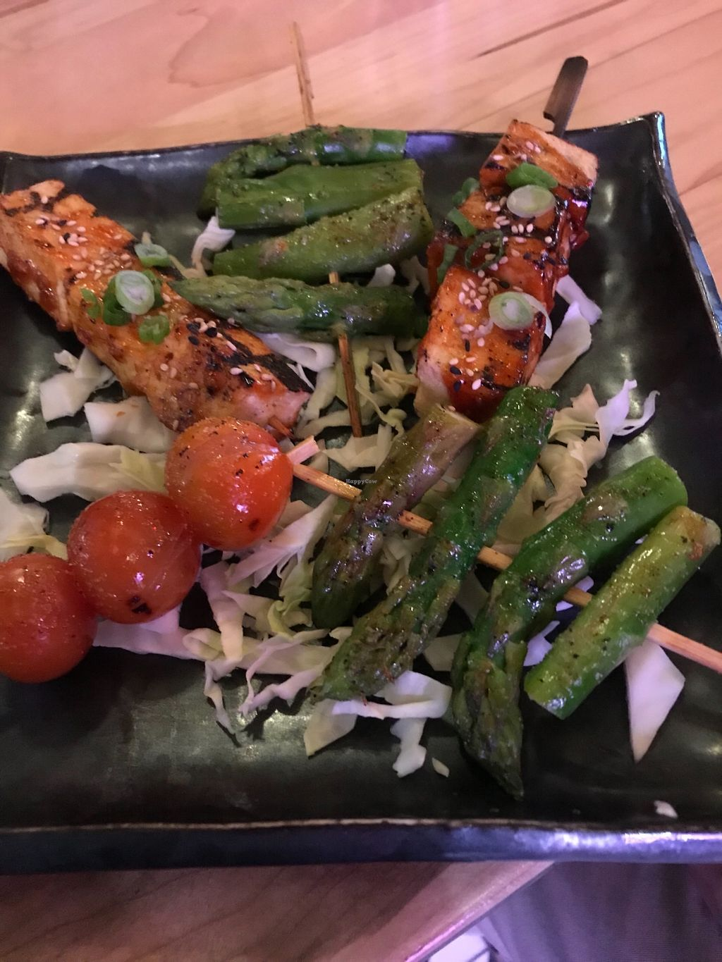 """Photo of Paris Hotel - Sekushi  by <a href=""""/members/profile/sjberrest"""">sjberrest</a> <br/>Tofu and veggie skewers <br/> December 29, 2017  - <a href='/contact/abuse/image/108131/340270'>Report</a>"""