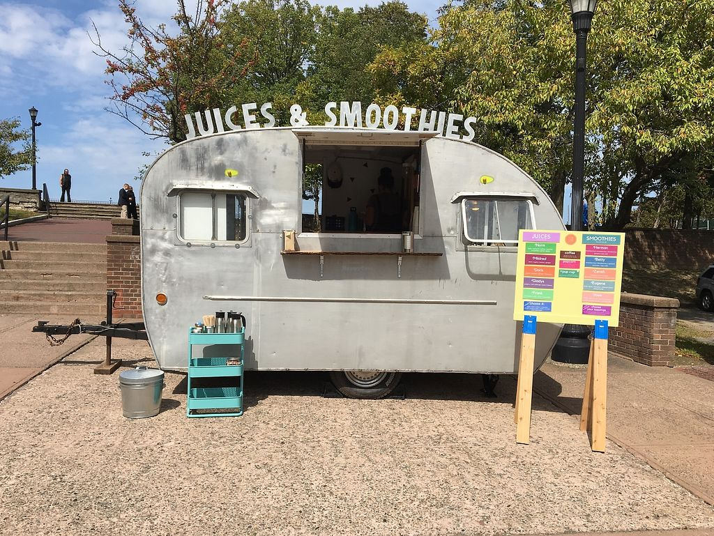 """Photo of Tin Can Juicery  by <a href=""""/members/profile/tincankelly"""">tincankelly</a> <br/>The camper that we operate out of in the warm months!  <br/> December 29, 2017  - <a href='/contact/abuse/image/108144/340542'>Report</a>"""
