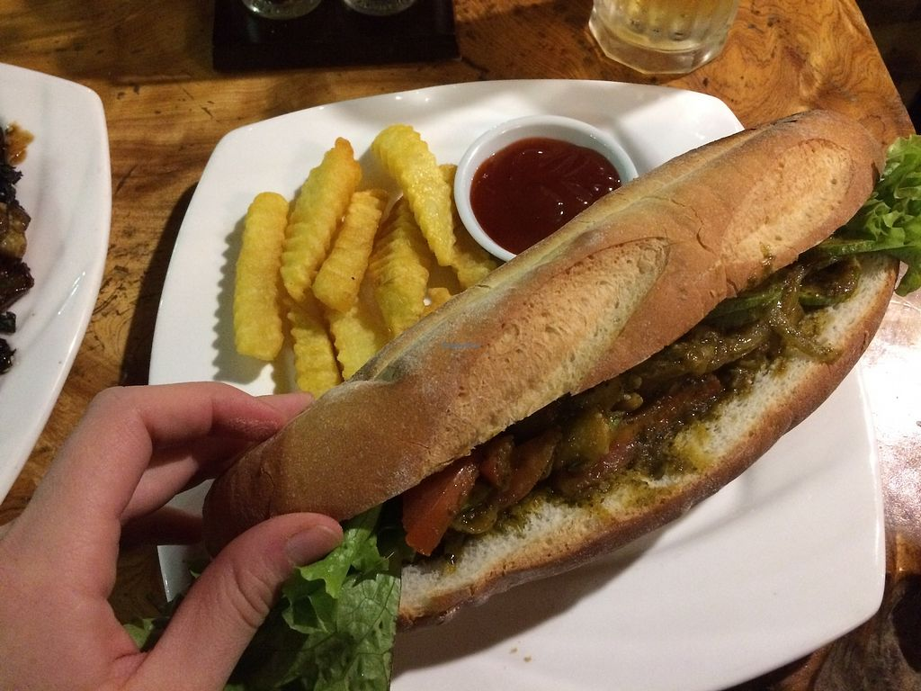 """Photo of Viet Emotion Restaurant  by <a href=""""/members/profile/Bethevegan"""">Bethevegan</a> <br/>Vegetable sandwich without cheese, very flavoursome <br/> January 4, 2018  - <a href='/contact/abuse/image/108150/342782'>Report</a>"""