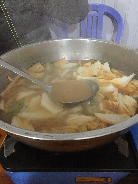 "Photo of Nha Hang Chay  by <a href=""/members/profile/FelipeLopezOca%C3%B1a"">FelipeLopezOcaña</a> <br/>Vegan hot pot <br/> February 5, 2018  - <a href='/contact/abuse/image/108153/355261'>Report</a>"