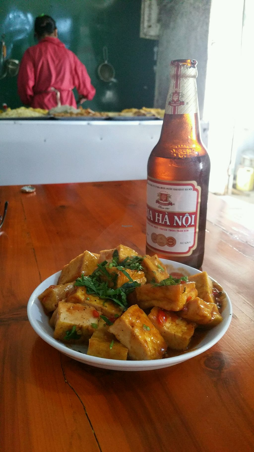"""Photo of Nha Hang Chay  by <a href=""""/members/profile/EranCohen"""">EranCohen</a> <br/>Tofu coated w tomato sauce <br/> April 22, 2018  - <a href='/contact/abuse/image/108153/389279'>Report</a>"""