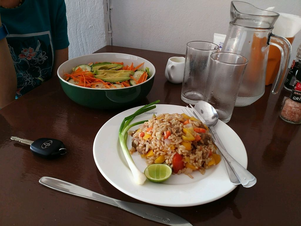 "Photo of Funky Vege Cafe  by <a href=""/members/profile/AlexandrCheremikin"">AlexandrCheremikin</a> <br/>Fried rice <br/> January 31, 2018  - <a href='/contact/abuse/image/108179/353086'>Report</a>"