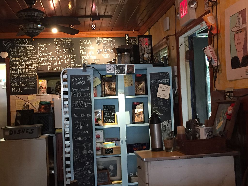 """Photo of Indian Shores Coffee  by <a href=""""/members/profile/VegElf"""">VegElf</a> <br/>Good coffee <br/> December 30, 2017  - <a href='/contact/abuse/image/108182/340842'>Report</a>"""