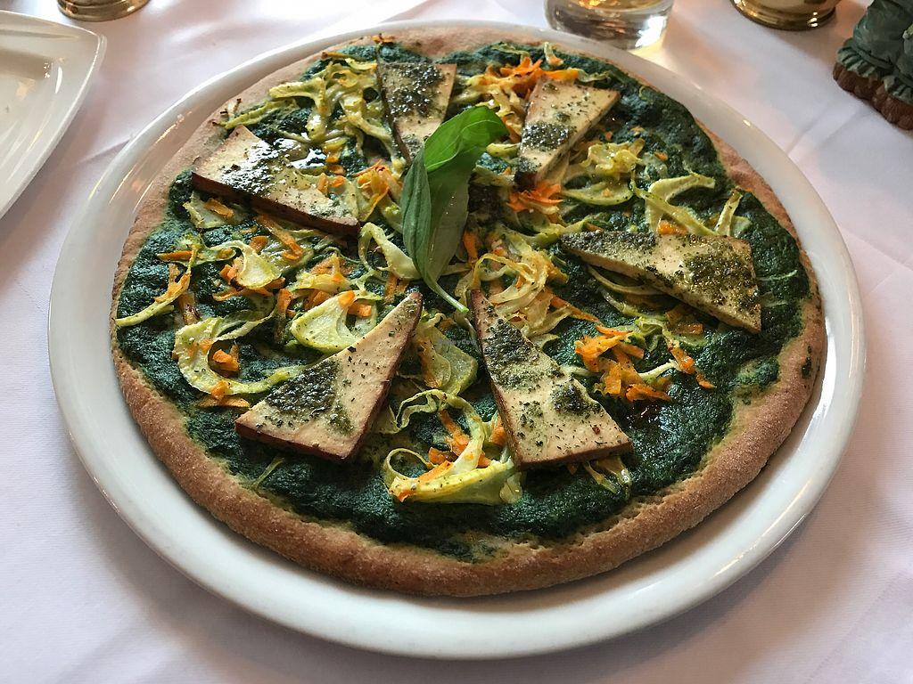 "Photo of Restaurant Pizzeria Dobner  by <a href=""/members/profile/Starrynita"">Starrynita</a> <br/>Vegane Pizza mit Räuchertofu <br/> March 5, 2018  - <a href='/contact/abuse/image/108205/367074'>Report</a>"