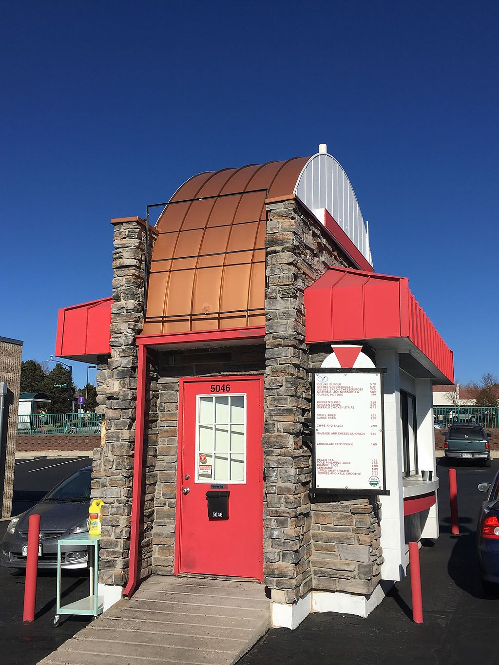 """Photo of Santana's Vegan Grill  by <a href=""""/members/profile/xavierfretard"""">xavierfretard</a> <br/>Drive through <br/> January 8, 2018  - <a href='/contact/abuse/image/108216/344525'>Report</a>"""