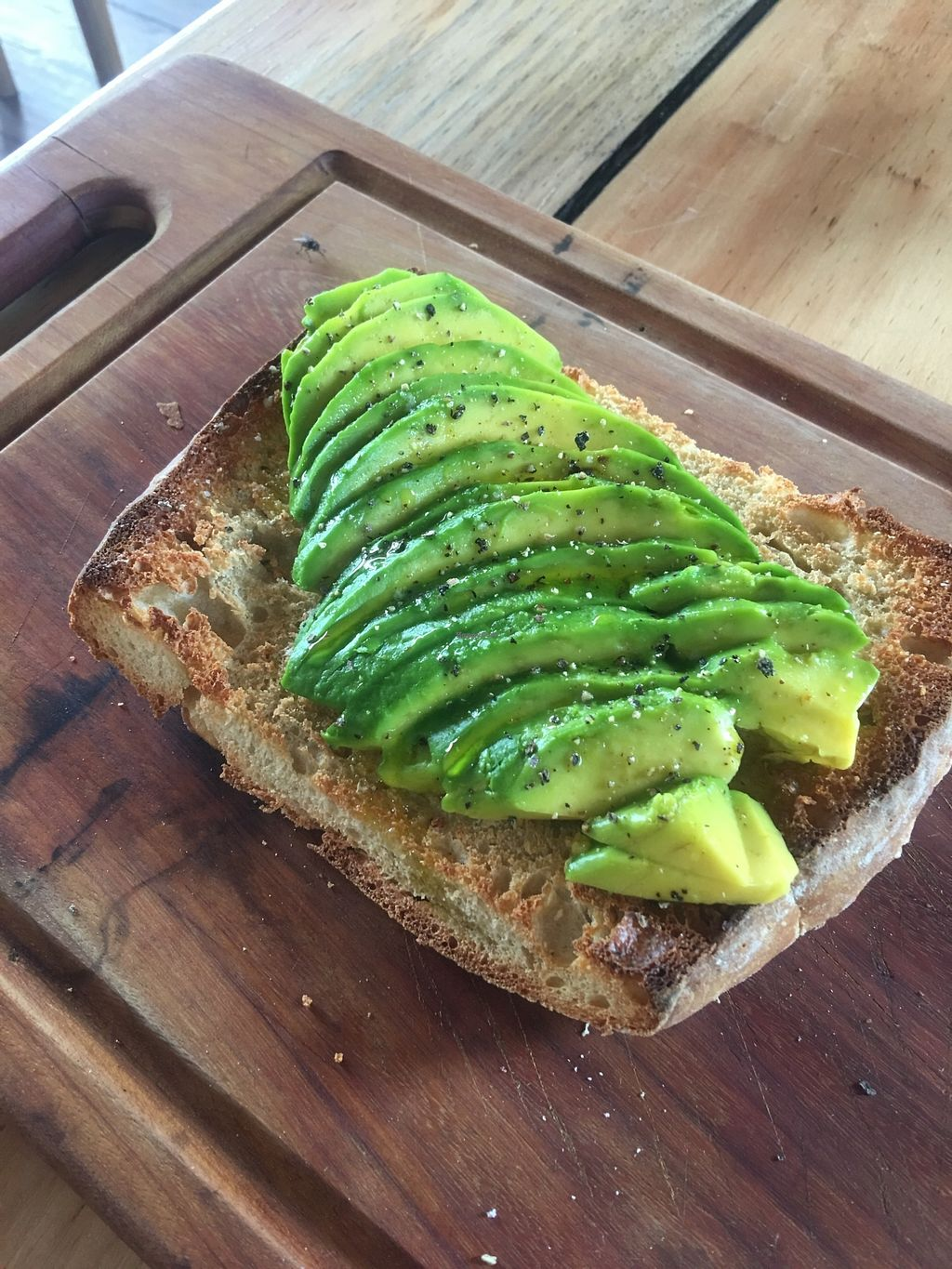 "Photo of Taberna 99 at 99 Surf Lodge  by <a href=""/members/profile/SimonZanini"">SimonZanini</a> <br/>Avocado toast @ 99 <br/> December 30, 2017  - <a href='/contact/abuse/image/108218/340723'>Report</a>"