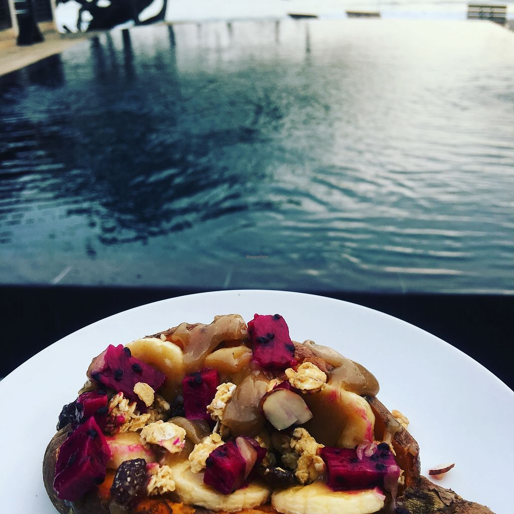 "Photo of Taberna 99 at 99 Surf Lodge  by <a href=""/members/profile/SimonZanini"">SimonZanini</a> <br/>Stuffed sweet potato <br/> December 30, 2017  - <a href='/contact/abuse/image/108218/340727'>Report</a>"