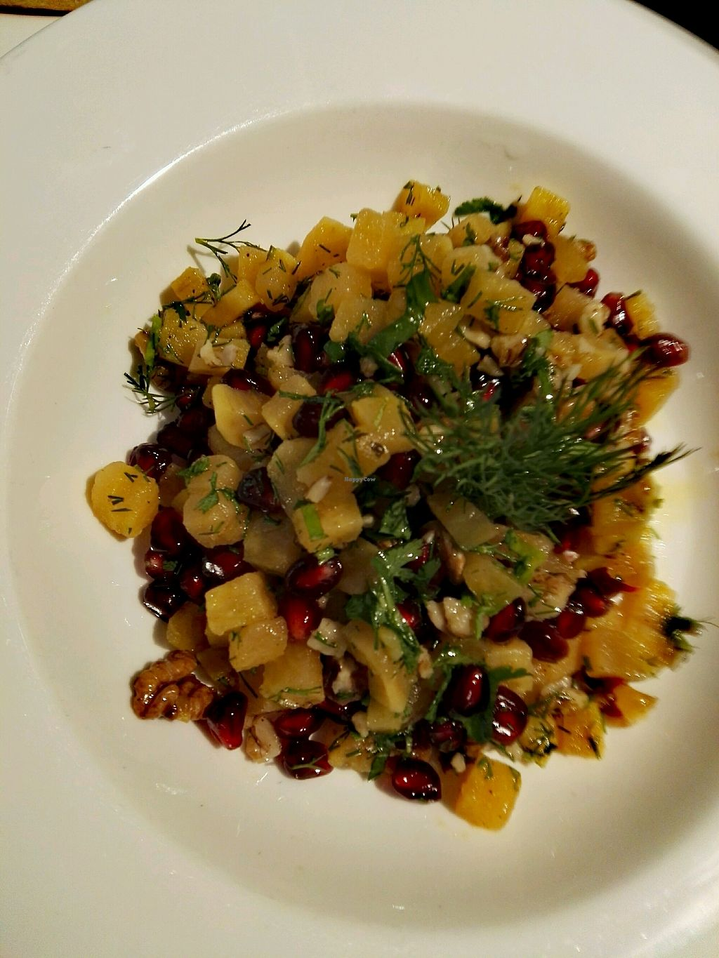 """Photo of Ecodemia  by <a href=""""/members/profile/Elainek921"""">Elainek921</a> <br/>sweet potato and pomegranate salad <br/> December 30, 2017  - <a href='/contact/abuse/image/108231/341043'>Report</a>"""