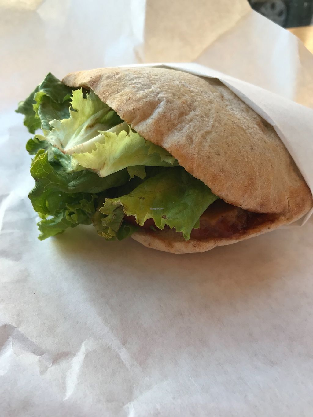 """Photo of Clover Food Lab  by <a href=""""/members/profile/EC5"""">EC5</a> <br/>BBQ seitan sandwich (vegan) <br/> December 30, 2017  - <a href='/contact/abuse/image/108260/341029'>Report</a>"""