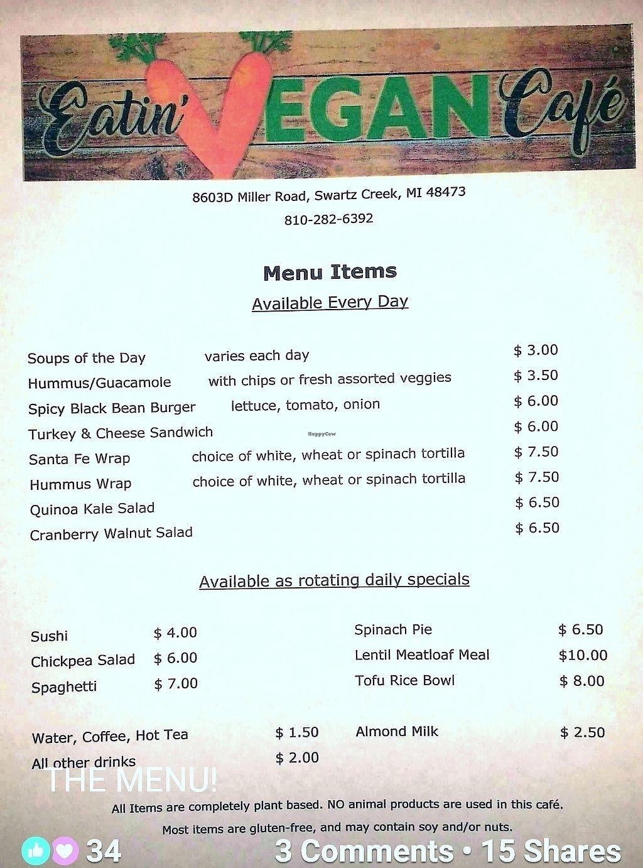 "Photo of Eatin Vegan Cafe  by <a href=""/members/profile/pofpar"">pofpar</a> <br/>menu <br/> January 6, 2018  - <a href='/contact/abuse/image/108270/343738'>Report</a>"