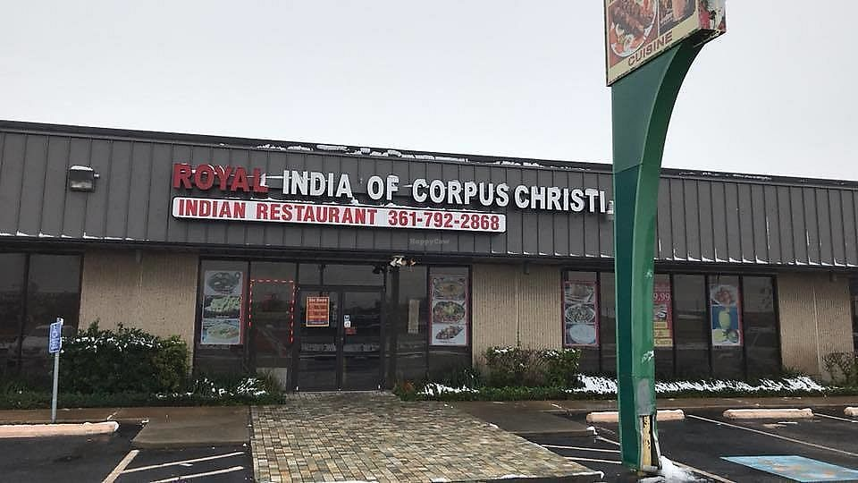 """Photo of Royal India of Corpus Christi  by <a href=""""/members/profile/community5"""">community5</a> <br/>Outside <br/> January 2, 2018  - <a href='/contact/abuse/image/108323/342316'>Report</a>"""