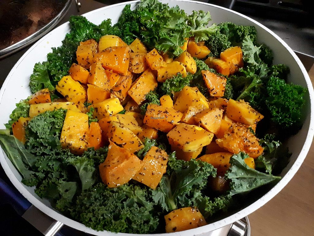 "Photo of Abyssinia Kitchen  by <a href=""/members/profile/Hilina"">Hilina</a> <br/>Butternut and Kale  <br/> January 6, 2018  - <a href='/contact/abuse/image/108358/343749'>Report</a>"