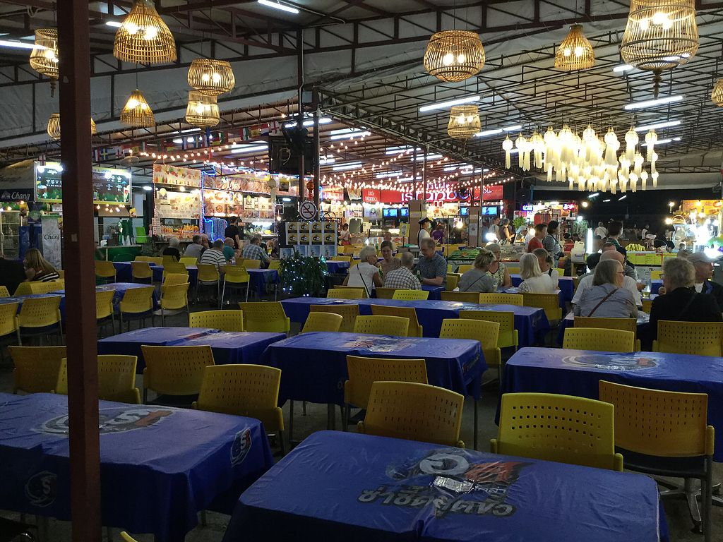 """Photo of Kalare Night Bazaar Food Stalls  by <a href=""""/members/profile/Mike%20Munsie"""">Mike Munsie</a> <br/>undercover seating <br/> March 3, 2018  - <a href='/contact/abuse/image/108365/366180'>Report</a>"""