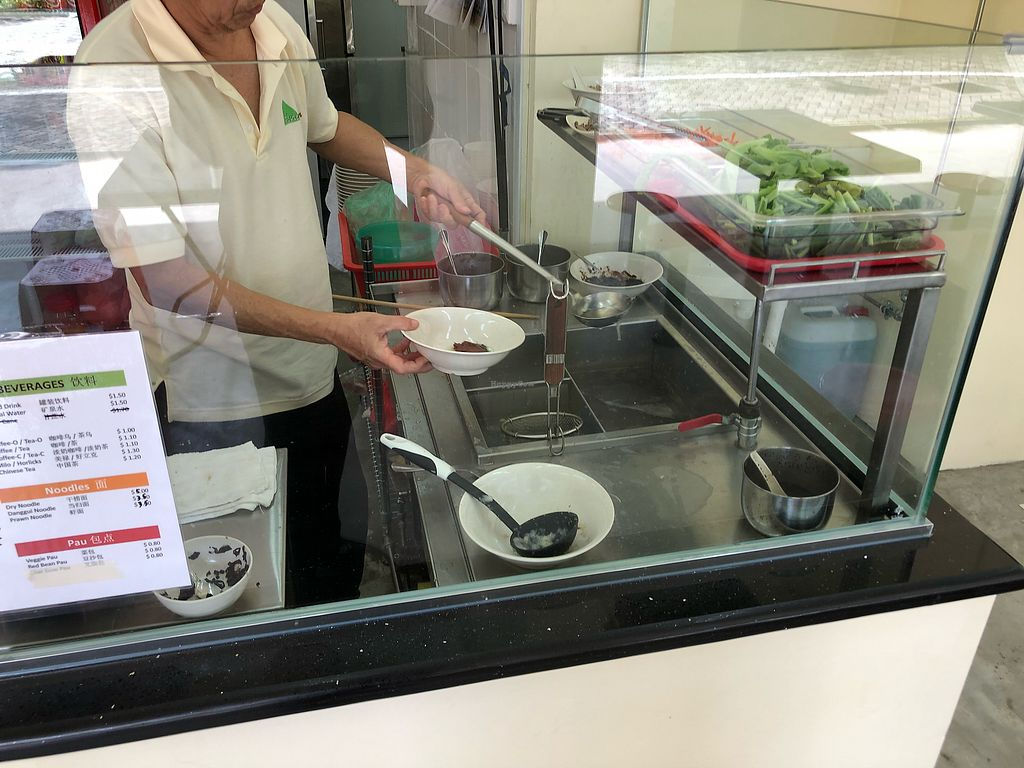 """Photo of Pine Green Vegan Cafe  by <a href=""""/members/profile/CherylQuincy"""">CherylQuincy</a> <br/>Food making in progress  <br/> January 18, 2018  - <a href='/contact/abuse/image/108370/347915'>Report</a>"""