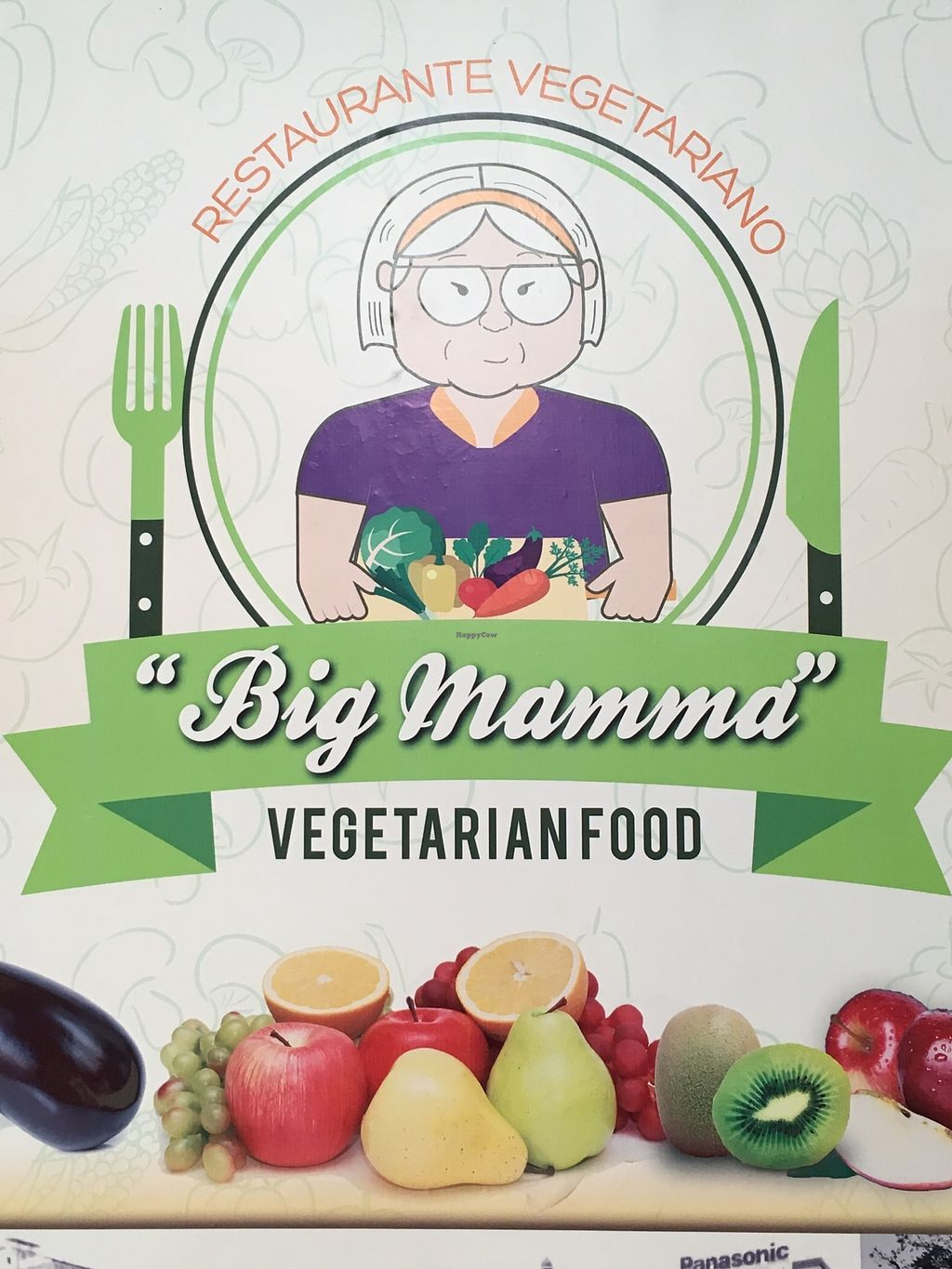 """Photo of Big Mamma Restaurante Vegetariano  by <a href=""""/members/profile/peas-full"""">peas-full</a> <br/>logo <br/> January 2, 2018  - <a href='/contact/abuse/image/108382/342056'>Report</a>"""