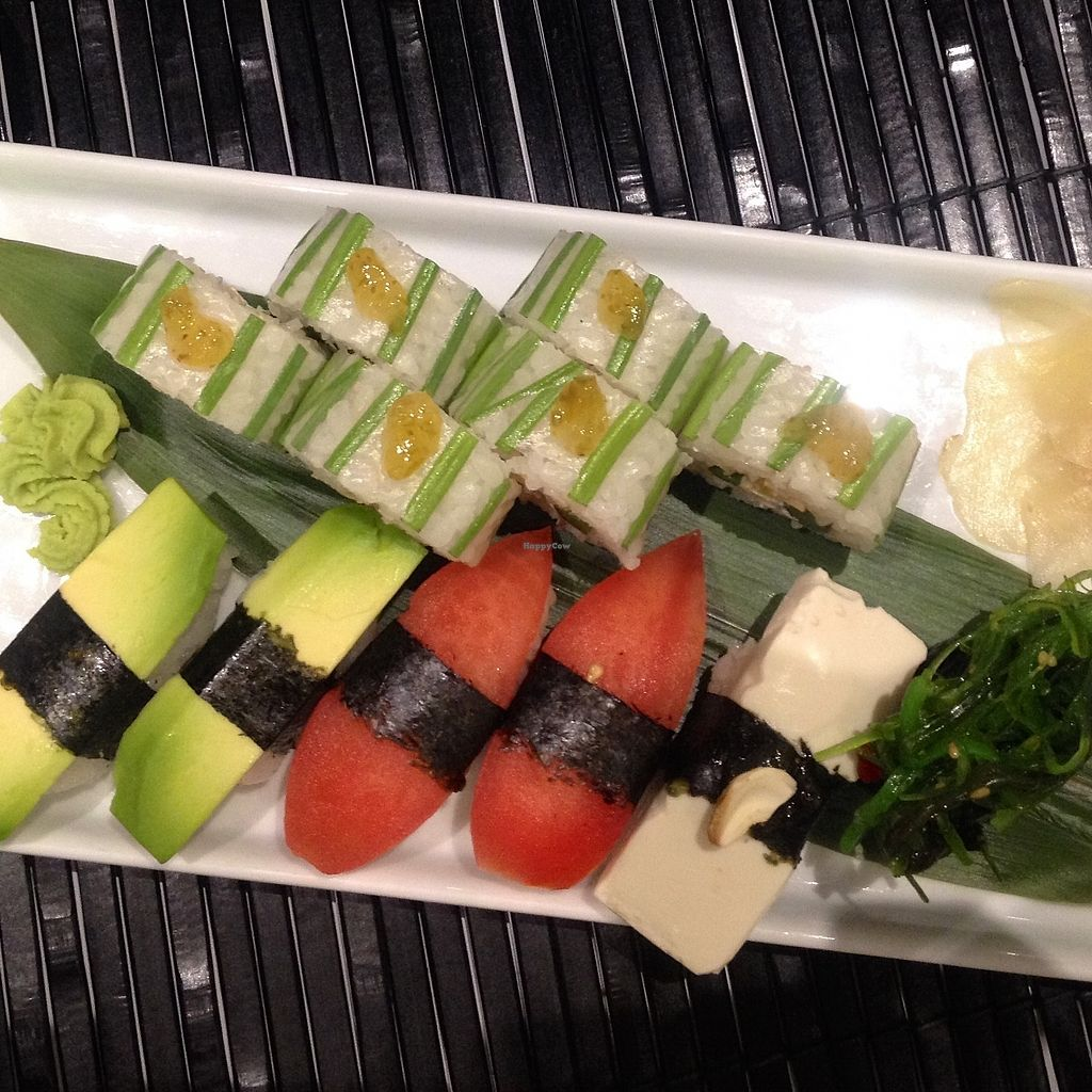"""Photo of Zushi  by <a href=""""/members/profile/ValentinaCarlotto"""">ValentinaCarlotto</a> <br/>Vegan sushi <br/> January 3, 2018  - <a href='/contact/abuse/image/108383/342422'>Report</a>"""