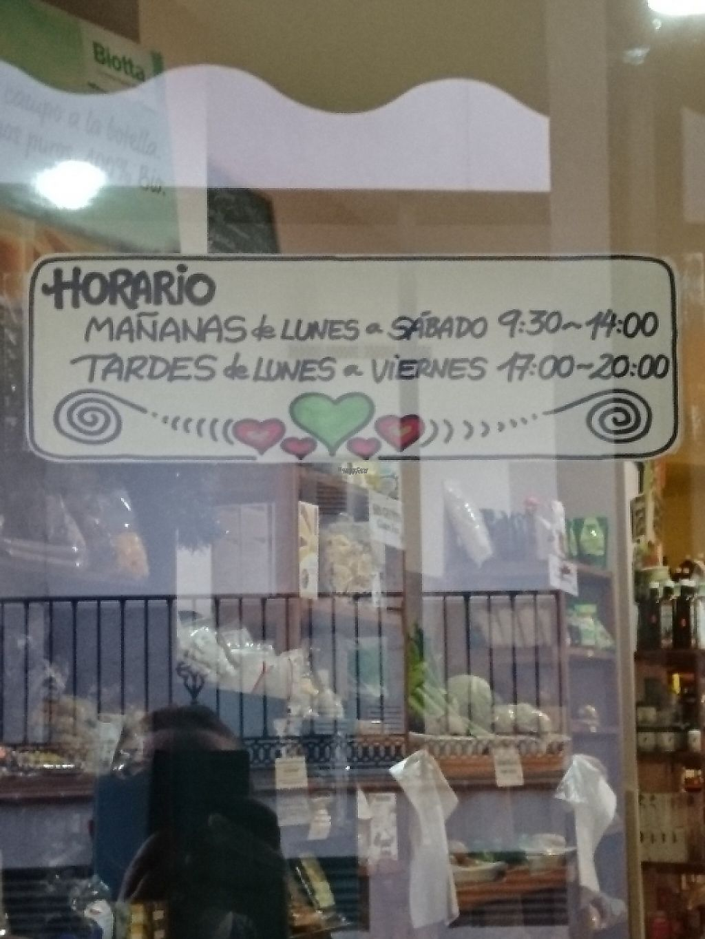 """Photo of Herbolario La Alacena  by <a href=""""/members/profile/Alleywaycat"""">Alleywaycat</a> <br/>Opening Times  <br/> December 29, 2016  - <a href='/contact/abuse/image/10839/209028'>Report</a>"""