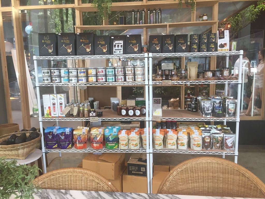 "Photo of The Green Geek Shop  by <a href=""/members/profile/dhidden"">dhidden</a> <br/>Big choice for snacks, rice, and seeds <br/> January 7, 2018  - <a href='/contact/abuse/image/108431/343882'>Report</a>"