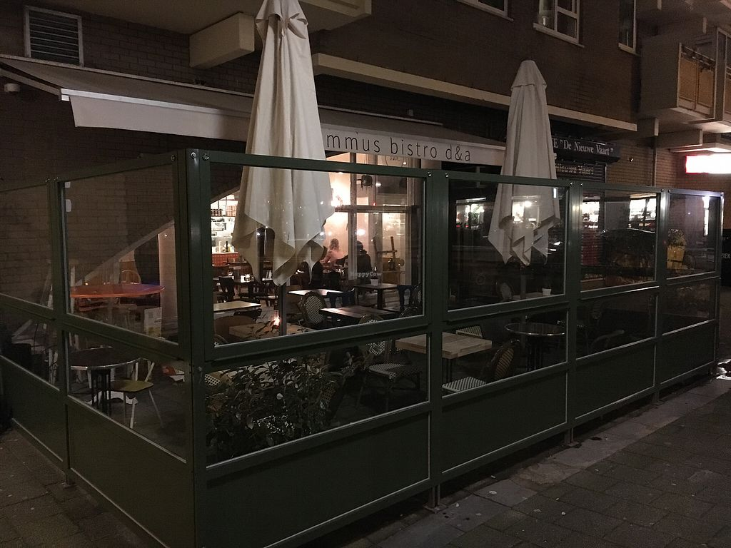 """Photo of D&A Hummus Bistro - Oostenburgergracht  by <a href=""""/members/profile/hack_man"""">hack_man</a> <br/>Exterior  <br/> January 3, 2018  - <a href='/contact/abuse/image/108467/342641'>Report</a>"""