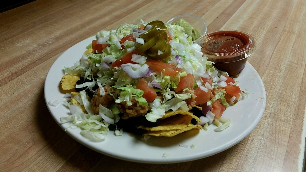 "Photo of The Nuggett Downtown Grill  by <a href=""/members/profile/WynterDulemba"">WynterDulemba</a> <br/>Gluten-free And Vegan Nachos.  <br/> January 6, 2018  - <a href='/contact/abuse/image/108515/343586'>Report</a>"