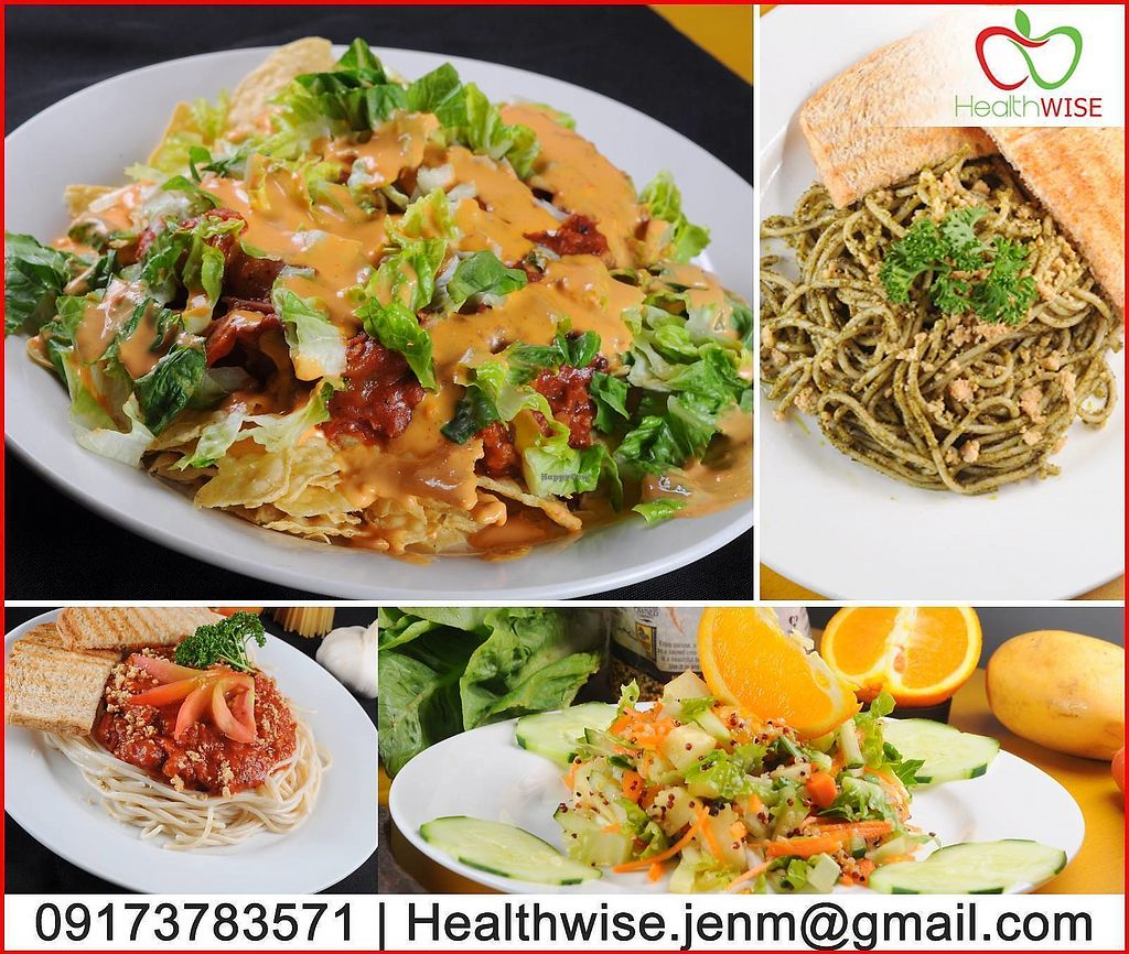 """Photo of Healthwise Bakeshop & Cafe  by <a href=""""/members/profile/HealthWISE"""">HealthWISE</a> <br/>100% plantbased food <br/> January 5, 2018  - <a href='/contact/abuse/image/108530/343138'>Report</a>"""