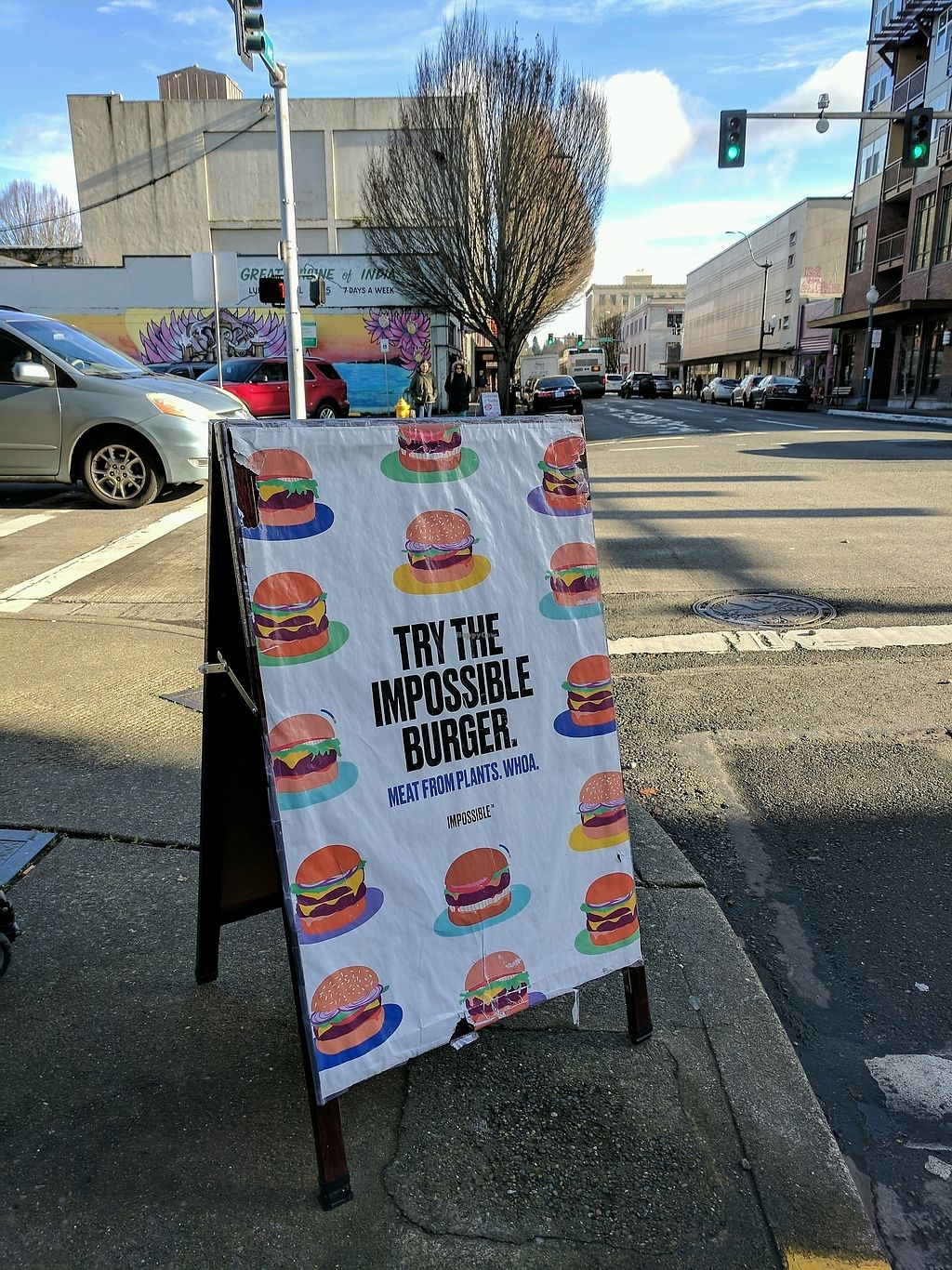 """Photo of Cascadia Grill  by <a href=""""/members/profile/Em%20C"""">Em C</a> <br/>impossible burger! <br/> January 18, 2018  - <a href='/contact/abuse/image/108540/347864'>Report</a>"""