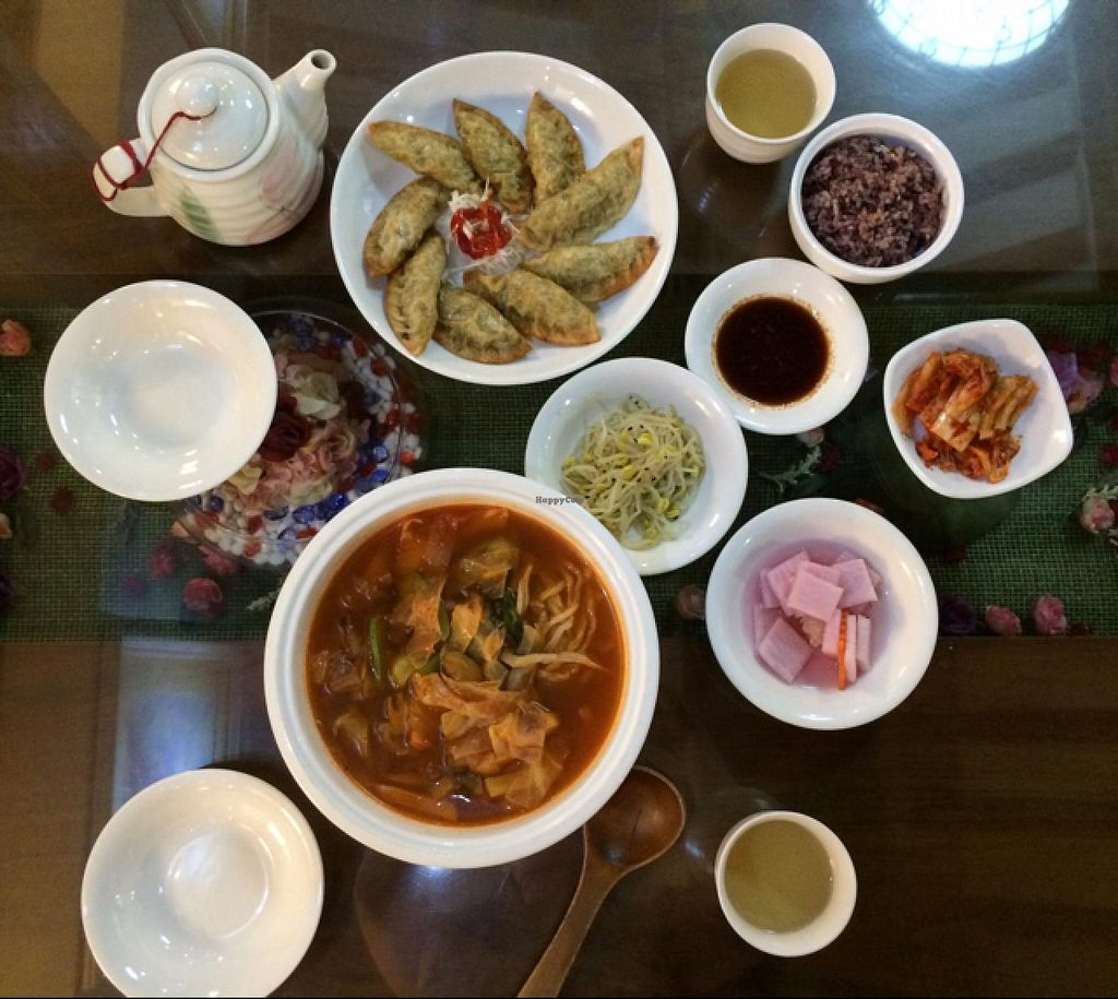 "Photo of Oh Se Gae Hyang - 오세계향  by <a href=""/members/profile/LaurenceM"">LaurenceM</a> <br/>a meal for two: delicious! <br/> July 12, 2015  - <a href='/contact/abuse/image/10860/108994'>Report</a>"