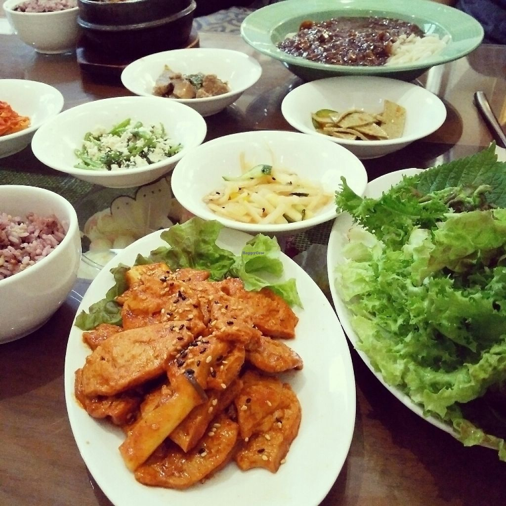 "Photo of Oh Se Gae Hyang - 오세계향  by <a href=""/members/profile/Logge"">Logge</a> <br/>vegan barbecue <br/> May 15, 2017  - <a href='/contact/abuse/image/10860/258956'>Report</a>"