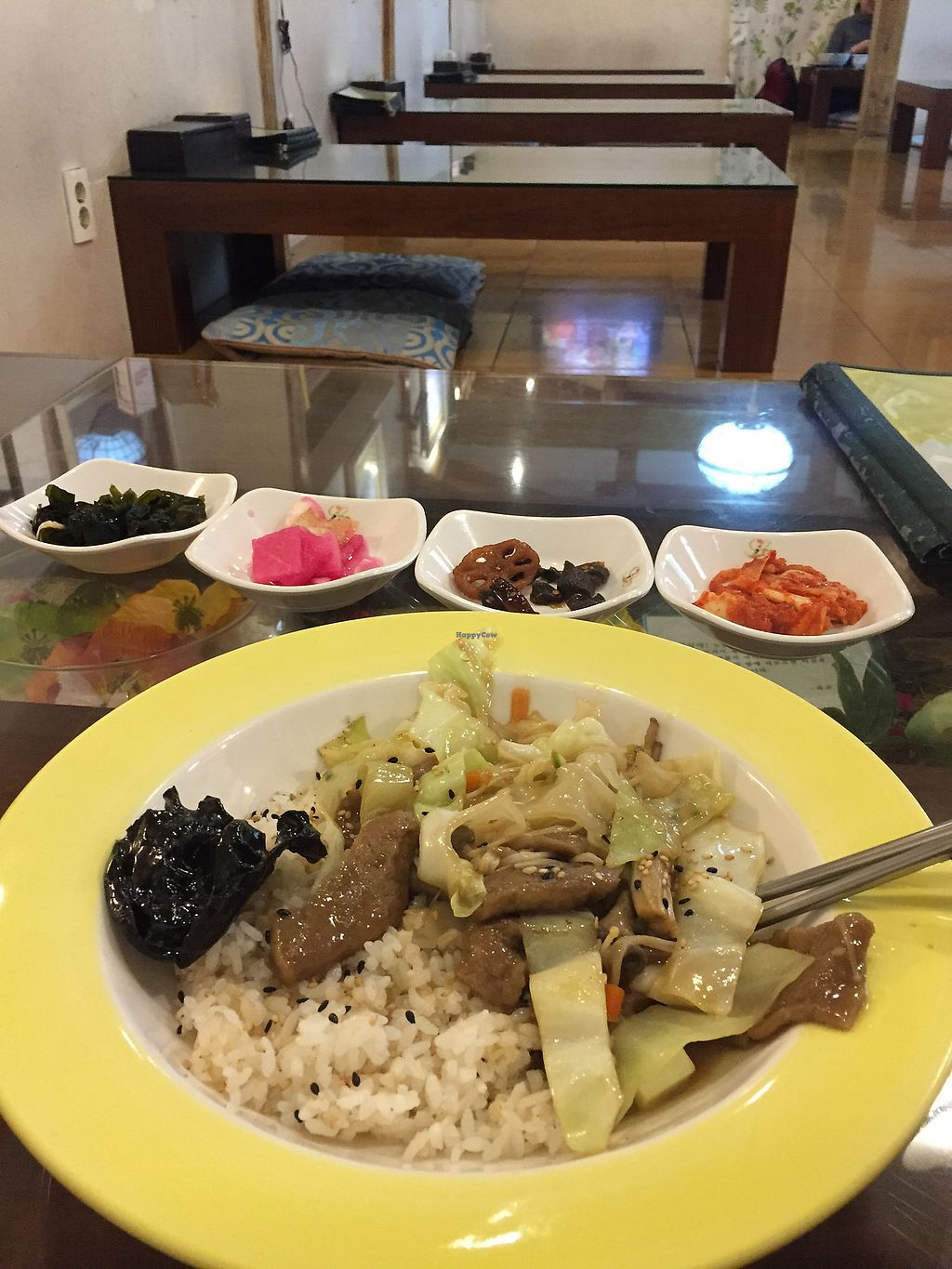 "Photo of Oh Se Gae Hyang - 오세계향  by <a href=""/members/profile/lola131"">lola131</a> <br/>מנת בקר טבעונית עם אורז <br/> October 25, 2017  - <a href='/contact/abuse/image/10860/318783'>Report</a>"