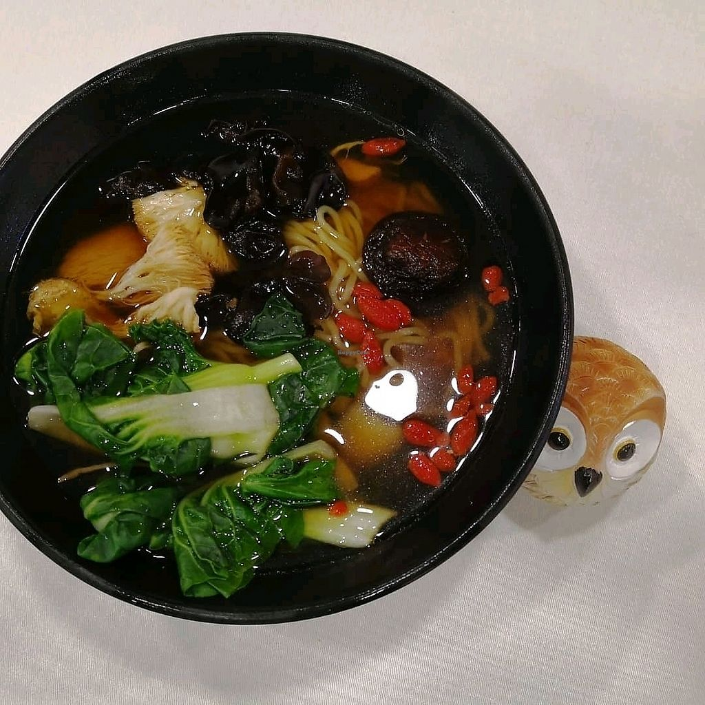 """Photo of Grove - Fusionopolis  by <a href=""""/members/profile/KuaMinChuen"""">KuaMinChuen</a> <br/>Herbal Soup Noodles  <br/> March 29, 2018  - <a href='/contact/abuse/image/108654/377701'>Report</a>"""